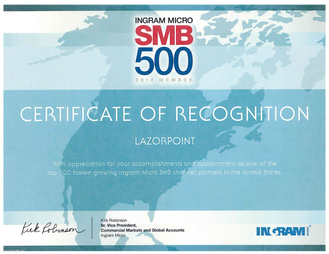 ingram micro certificate resized 600