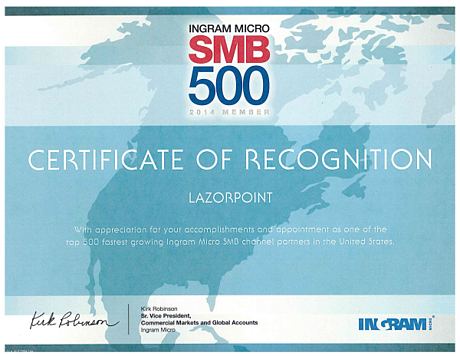 ingram micro certificate resized 600
