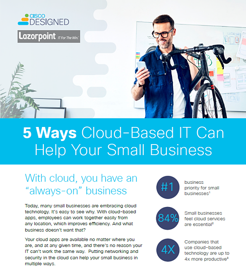 5 Ways Cloud Based IT Can Help Your Small Business
