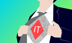IT Staffing Mistake Number 1 – Creating the IT Superhero