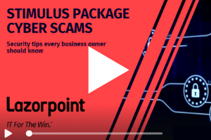 Stimulus Package Cyber Scam Video