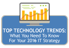 Top Technology Trends: What you need to know for your 2015 IT strategy